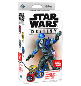 Fantasy Flight Games Star Wars Destiny: Allies of Necessity Draft Set