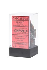 Chessex Polyhedral 7 Dice Set Speckled Space CHX25308