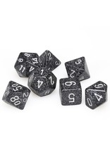 Chessex Polyhedral 7 Dice Set Speckled Ninja CHX25318