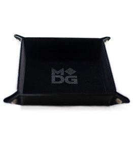 Metallic Dice Games LLC Velvet Folding Dice Tray: Black