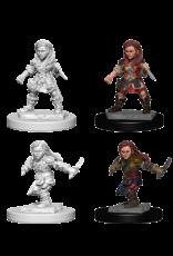 Wizkids Halfling Female Rogue: D&D Nolzurs Marvelous Unpainted Minis