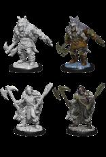 Wizkids W9 Male Half-Orc Barbarian: D&D Nolzurs Marvelous Unpainted Minis
