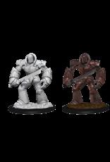 Wizkids W10 Iron Golem: D&D Nolzurs Marvelous Unpainted Minis