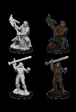 Wizkids Female Half-Orc Fighter: D&D Nolzurs Marvelous Unpainted Minis
