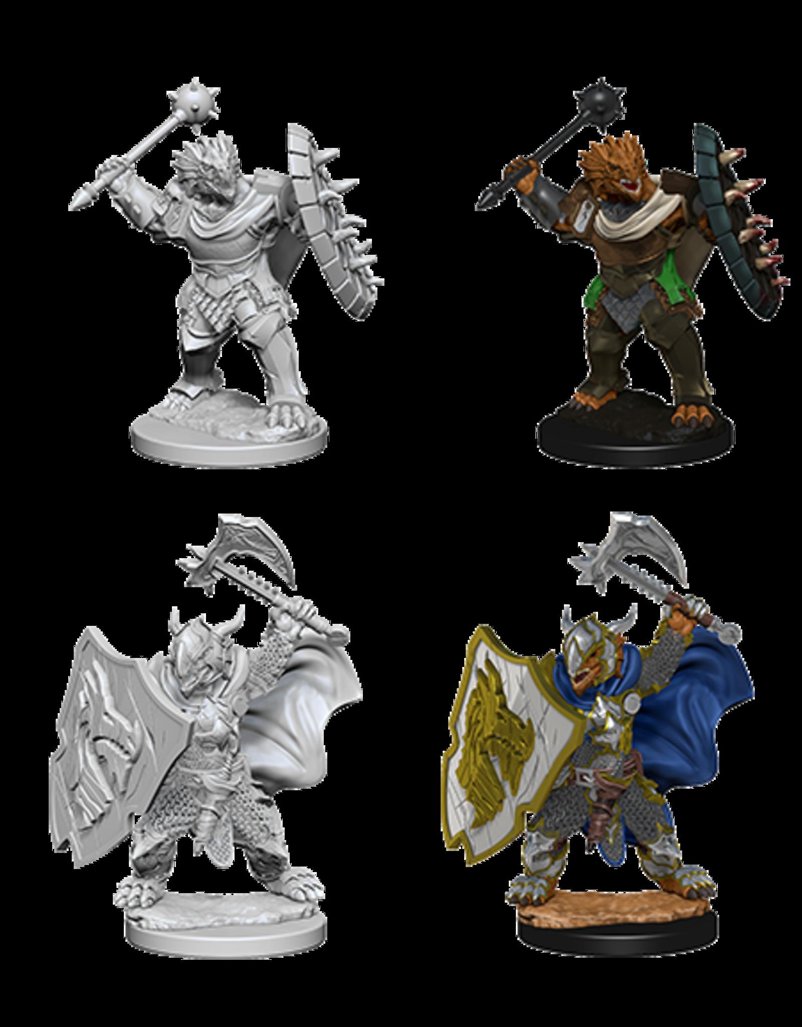 Wizkids Dragonborn Male Paladin: D&D Nolzurs Marvelous Unpainted Minis