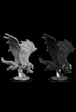 Wizkids D&D Nolzurs Unpainted Minis: Wave 8 Young Black Dragon