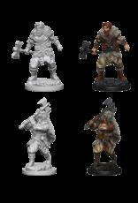 Wizkids Human Male Barbarian: D&D Nolzurs Marvelous Unpainted Minis