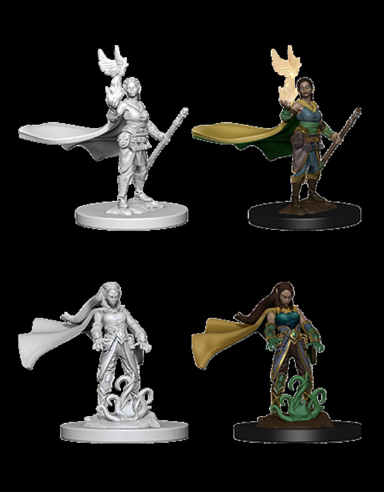 Wizkids Elf Female Druid: D&D Nolzurs Marvelous Unpainted Minis