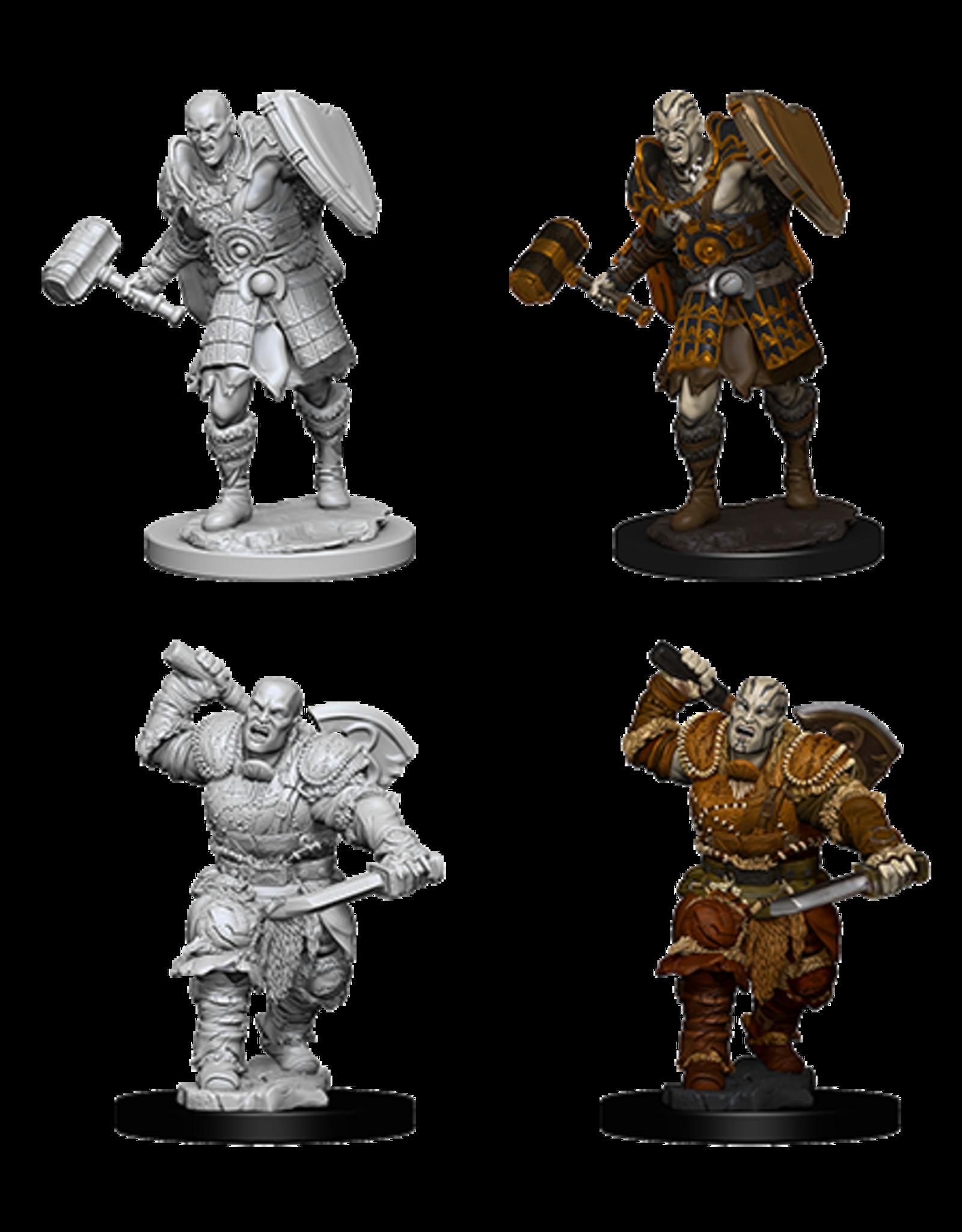 Wizkids Male Goliath Fighter: D&D Nolzurs Marvelous Unpainted Minis