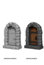 Wizkids Doors: Deep Cuts Unpainted Miniatures