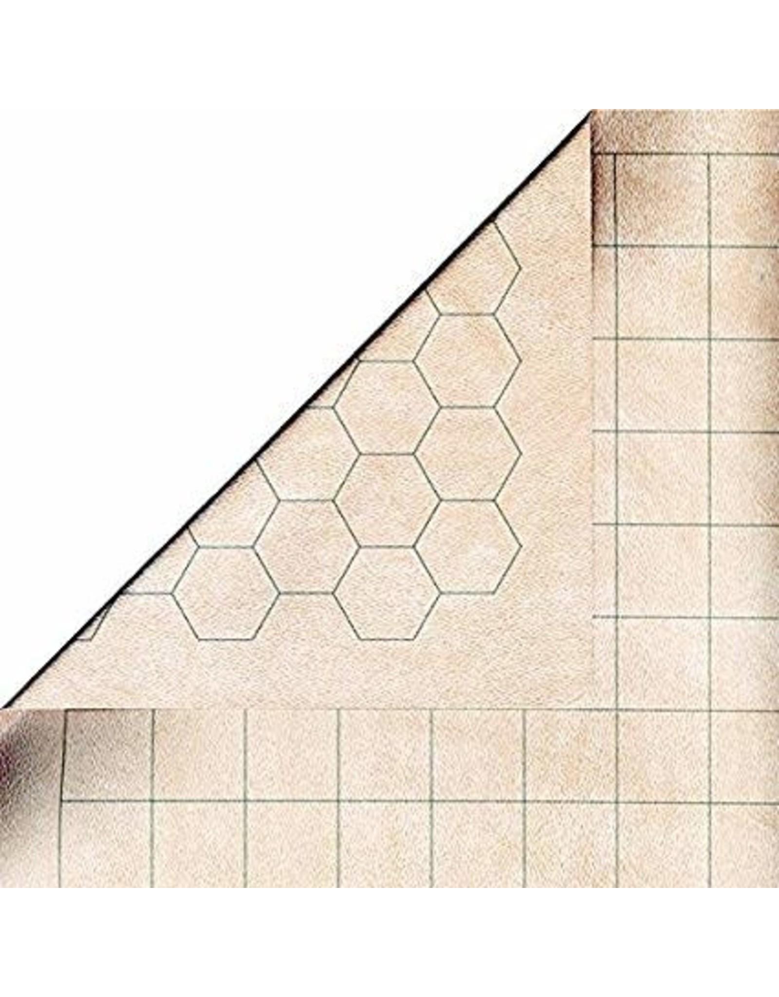 "Chessex CHX Reversible Battlemat 1"" sq/hex"