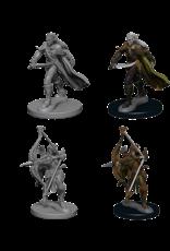 Wizkids Elf Male Fighter: PF Deep Cuts Unpainted Miniatures
