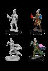 Wizkids Elf Female Sorcerer: PF Deep Cuts Unpainted Miniatures