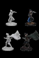Wizkids Elf Female Rogue: PF Deep Cuts Unpainted Miniatures