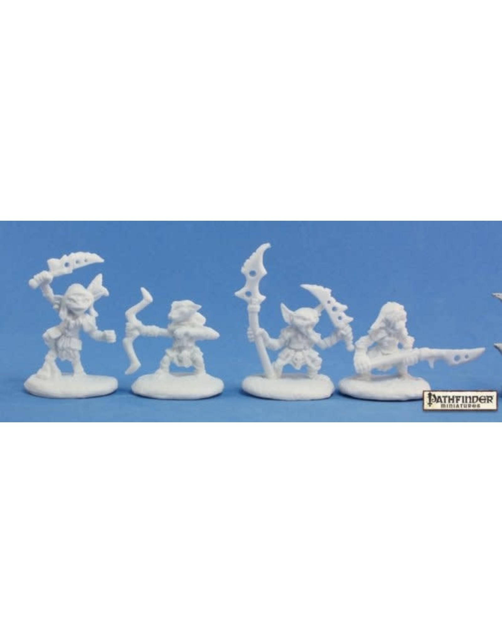 Reaper Pathfinder Bones: Pathfinder Goblin Warriors