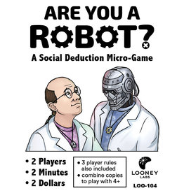Looney Labs Are You a Robot?