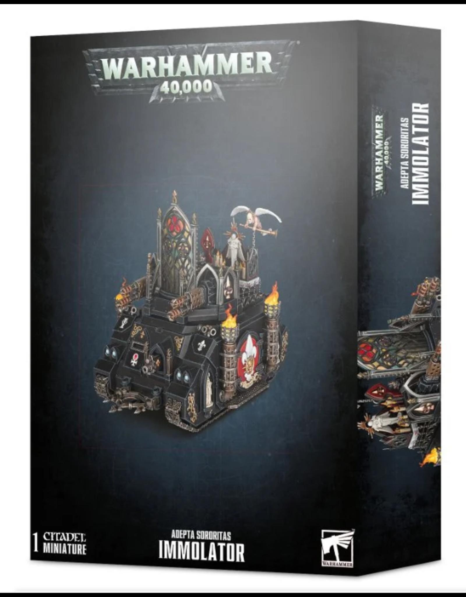 Games Workshop Adepta Sororitas Immolator