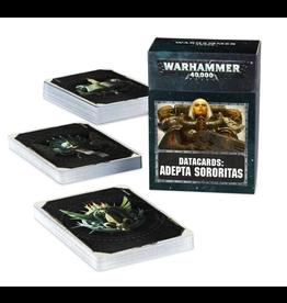 Games Workshop Adepta Sororitas Datacards