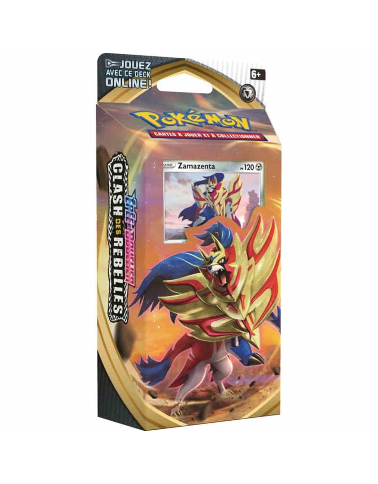 Pokemon Company Pokemon: Sword and Shield Rebel Clash Theme deck - Zamazenta