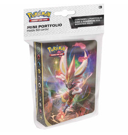 Pokemon Company Pokemon: Sword and Shield Rebel Clash Mini Portfolio