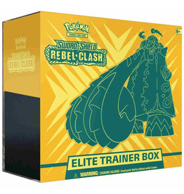 Pokemon Company Pokemon: Sword and Shield Rebel Clash Elite Trainer Box