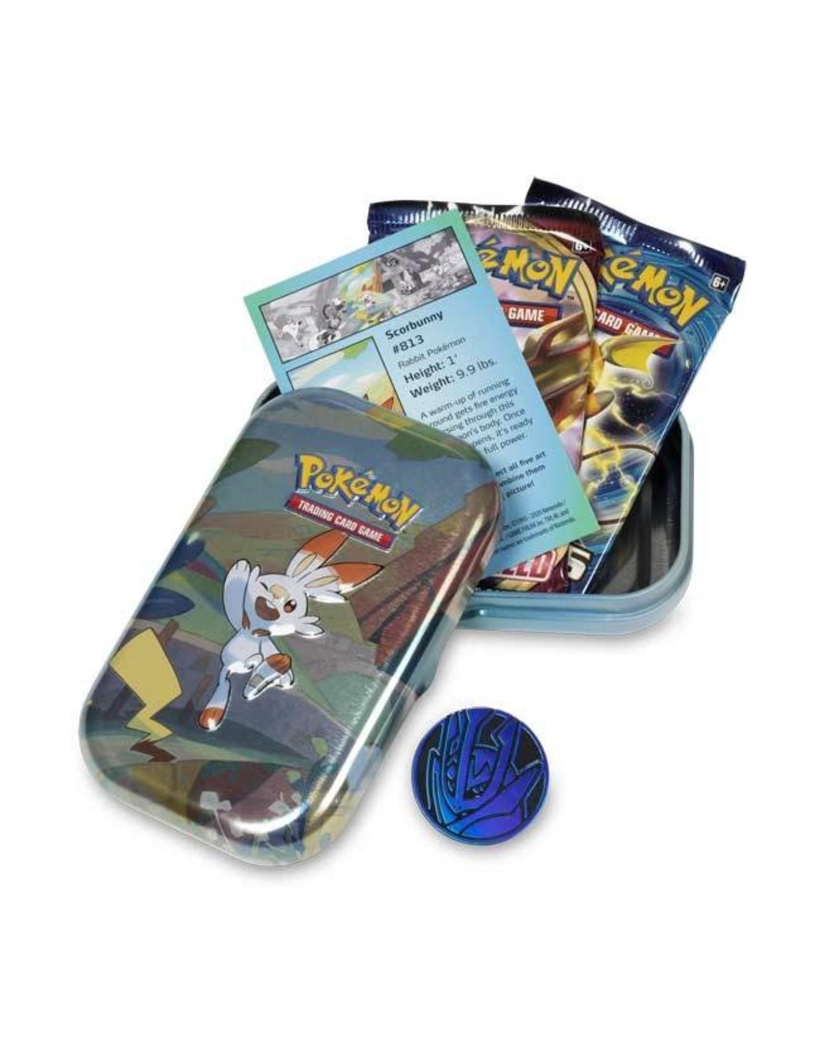 Pokemon Company Pokemon: Galar Pals Mini Tin - Scorbunny
