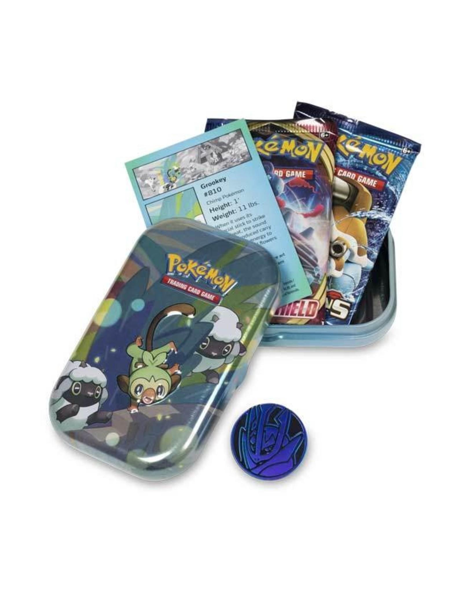 Pokemon Company Pokemon: Galar Pals Mini Tin - Grookey