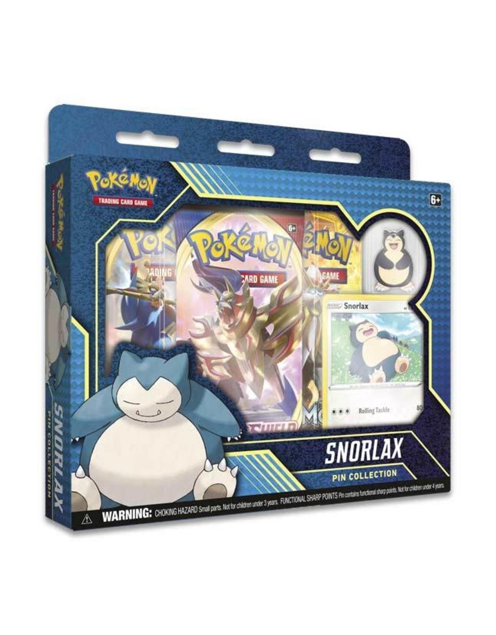 Pokemon Company Pokemon: Snorlax Pin Collection
