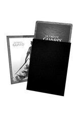 Ultimate Guard Katana Sleeves: Standard Size Black 100 count