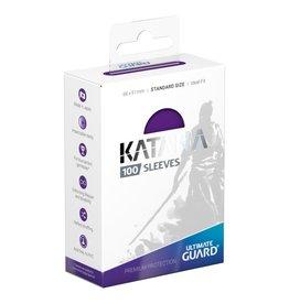 Ultimate Guard Katana Sleeves: Standard Size Purple 100 count