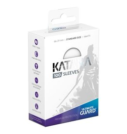 Ultimate Guard Katana Sleeves: Standard Size White 100 count