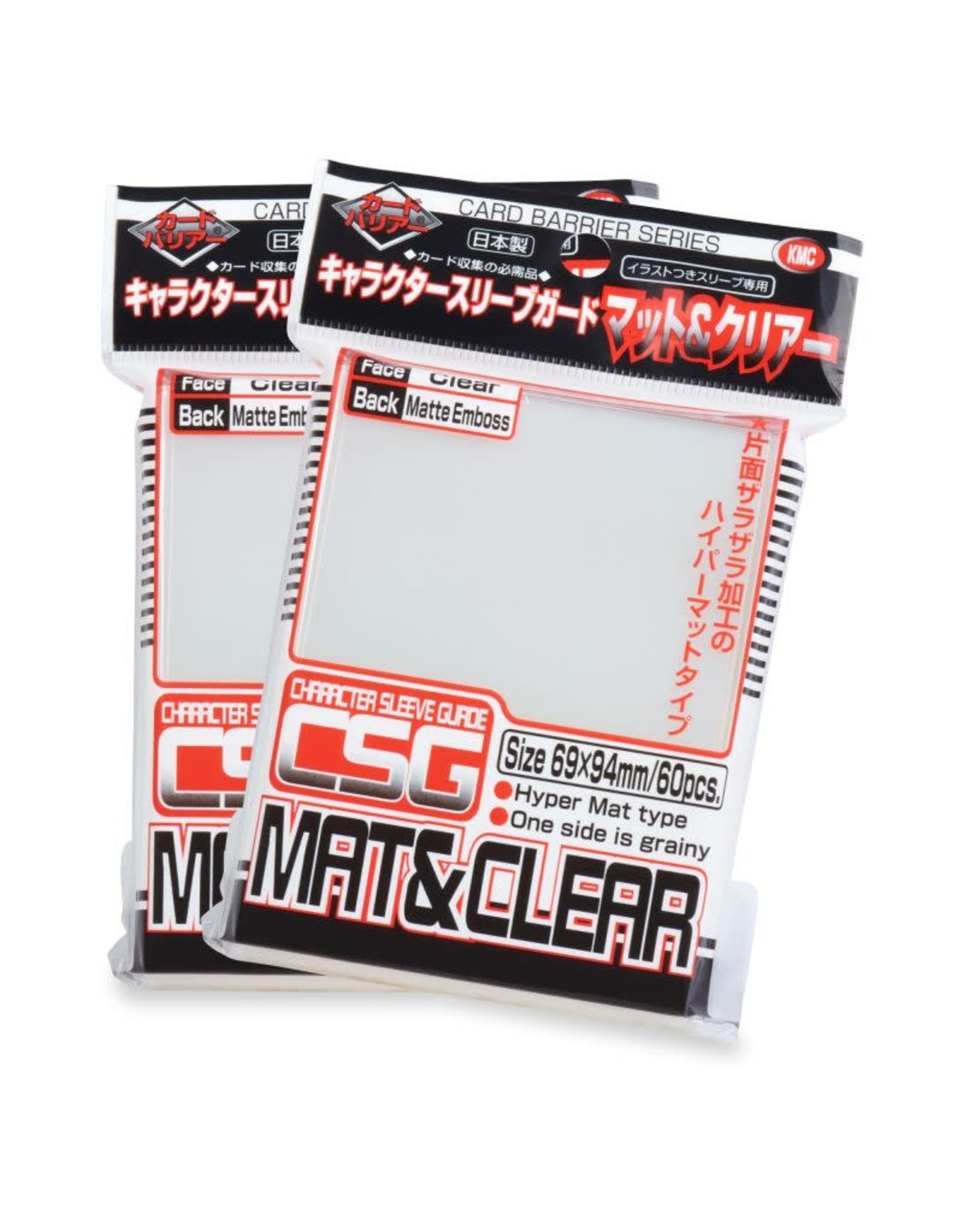 KMC KMC Character Guard Matte Sleeves 60 count