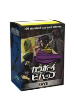 Arcane Tinmen Dragon Shield: Art Sleeves Cowboy Bebop Faye 100 count