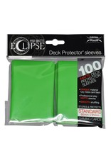 Ultra Pro Eclipse PRO-Matte Sleeves Lime Green 100 count