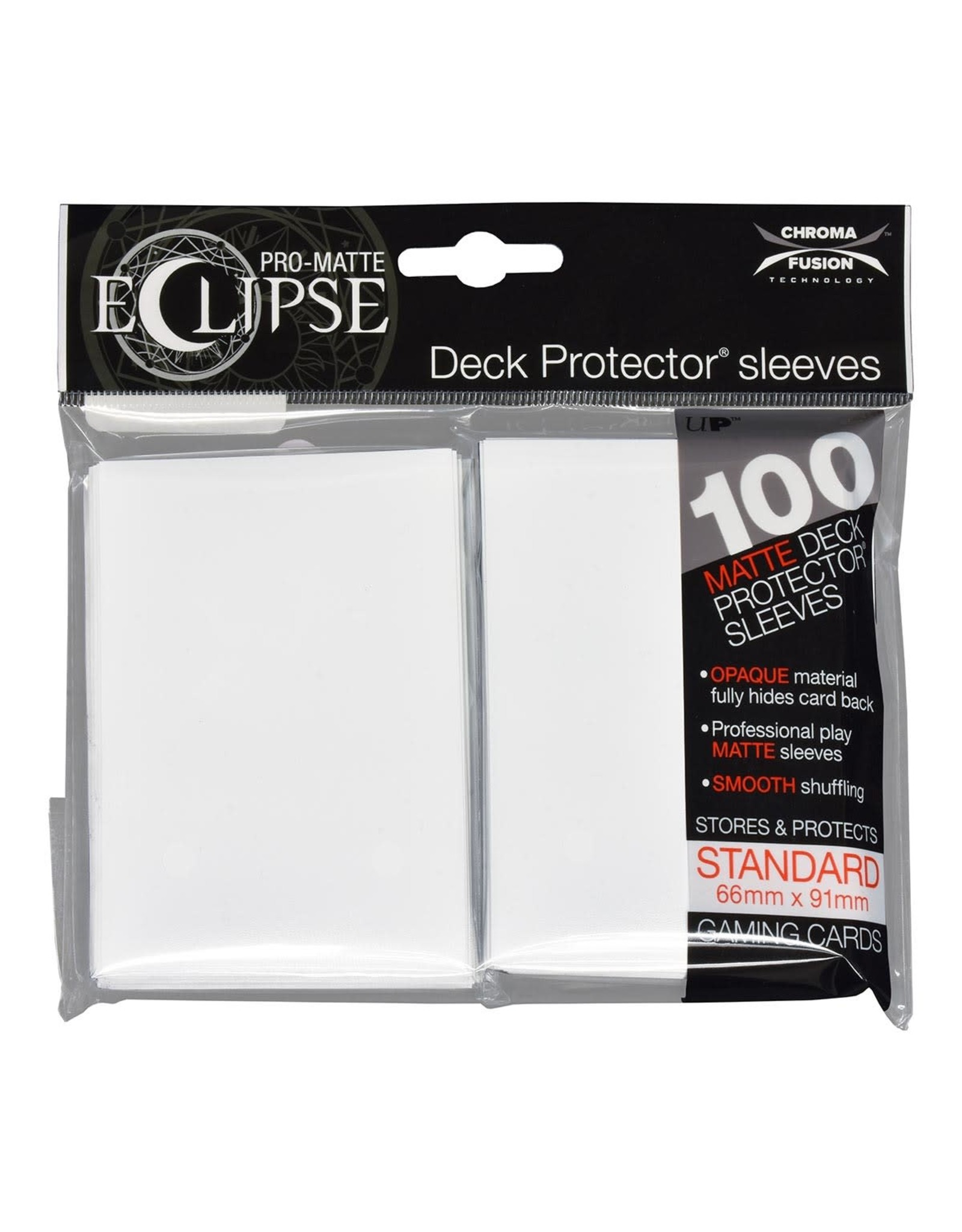 Ultra Pro Eclipse PRO-Matte Sleeves Arctic White 100 count