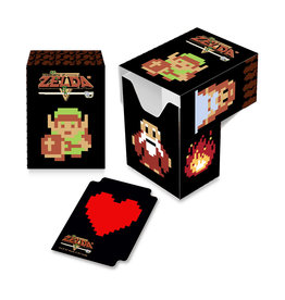 Ultra Pro The Legend of Zelda: 8 Bit Full View Deck Box