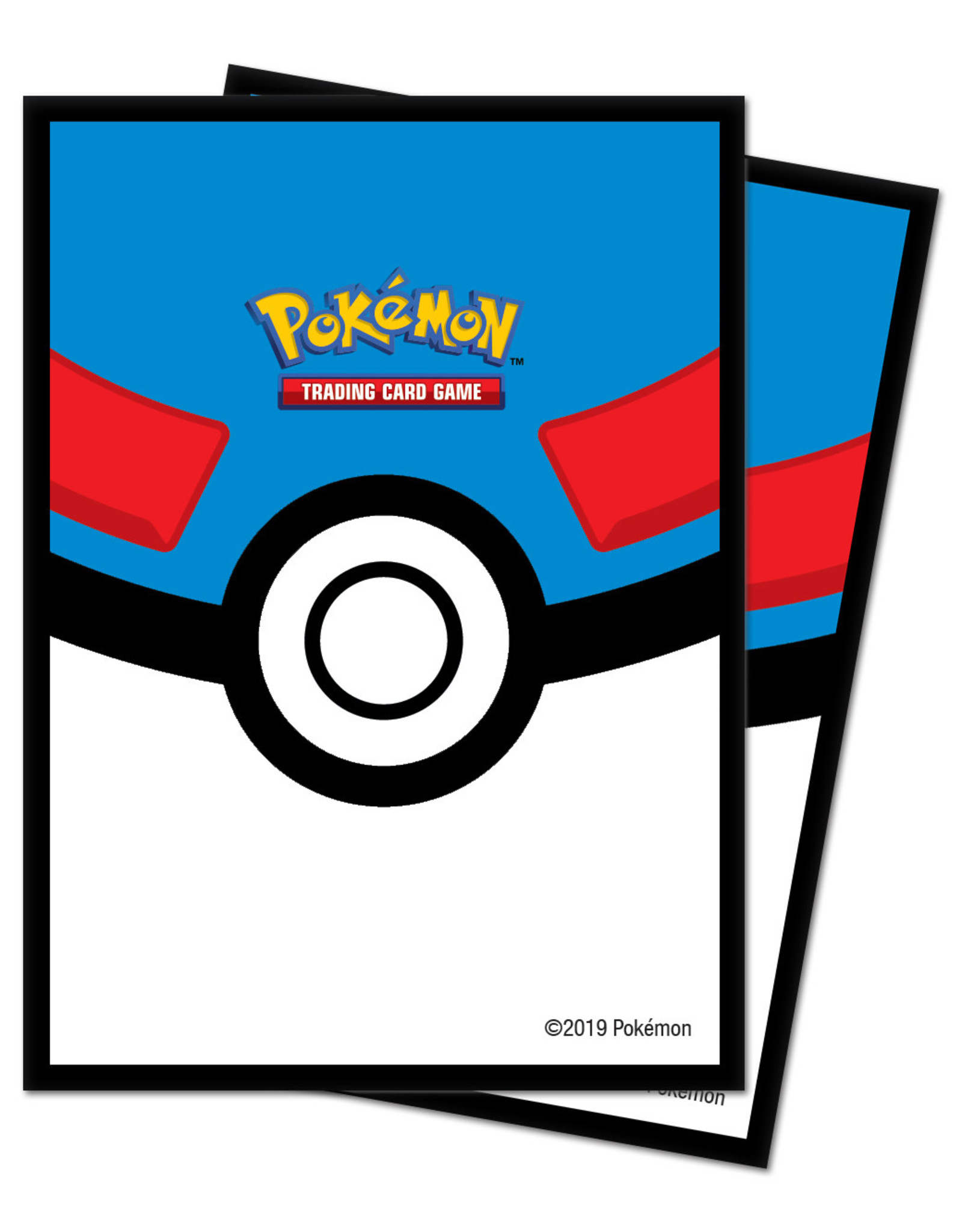 Ultra Pro Pokemon Great Ball Card Sleeves 65 Count