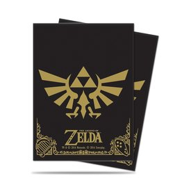 Ultra Pro The Legend of Zelda: Black and Gold Card Sleeves 65 Count