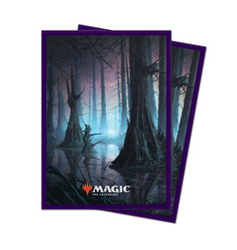 Ultra Pro Unstable Lands Sleeves 100 count - Swamp
