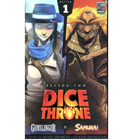 Roxley Games Dice Throne: Season 2 - Gunslinger vs Samurai