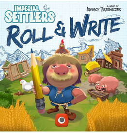 Portal Games Imperial Settlers: Roll and Write (stand alone)