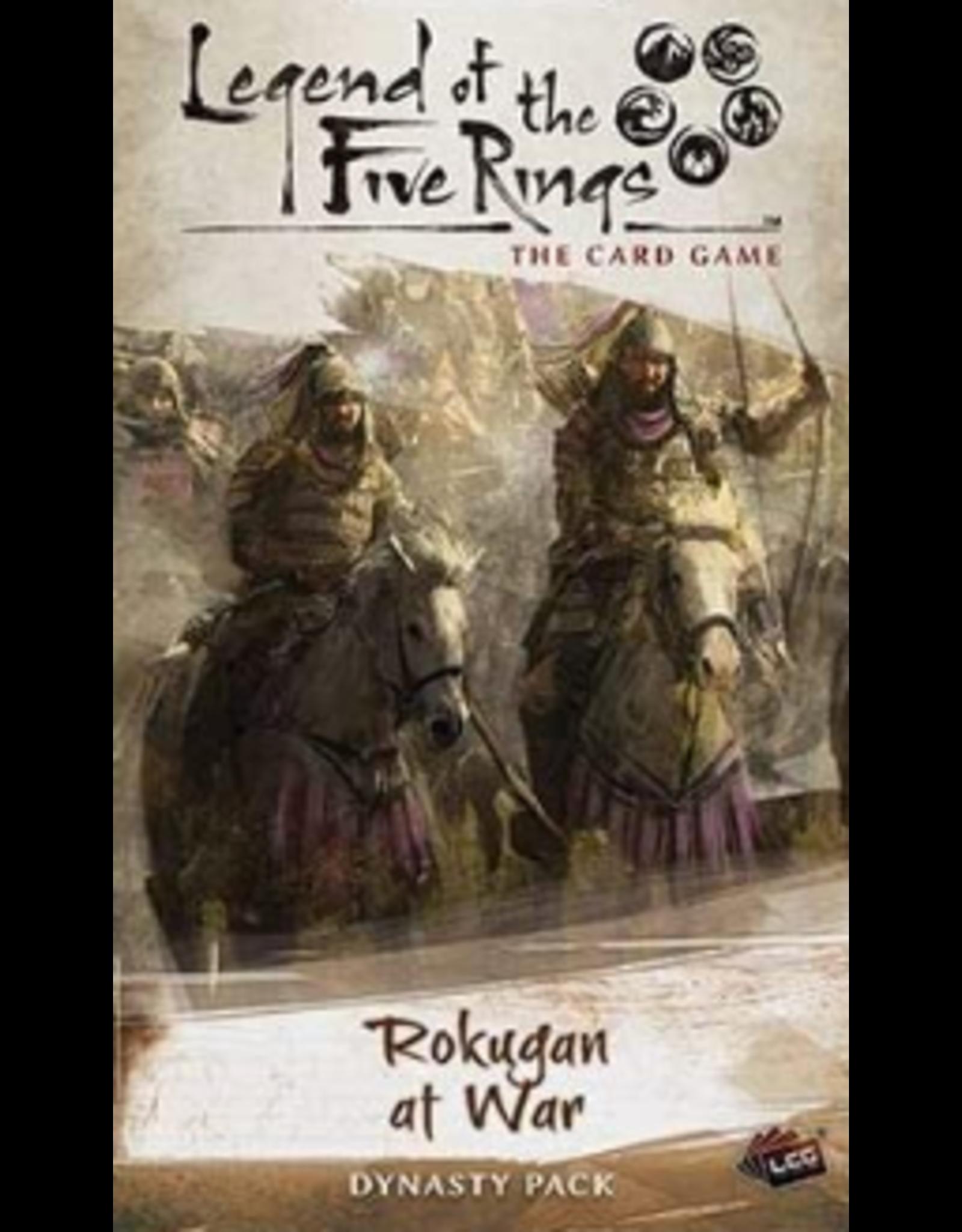 Fantasy Flight Games Legend of the Five Rings LCG: Rokugan at War Dynasty Pack