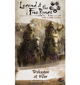 Fantasy Flight Games Legend of the Five Rings LCG: Rokugan at War Dynasty Pack