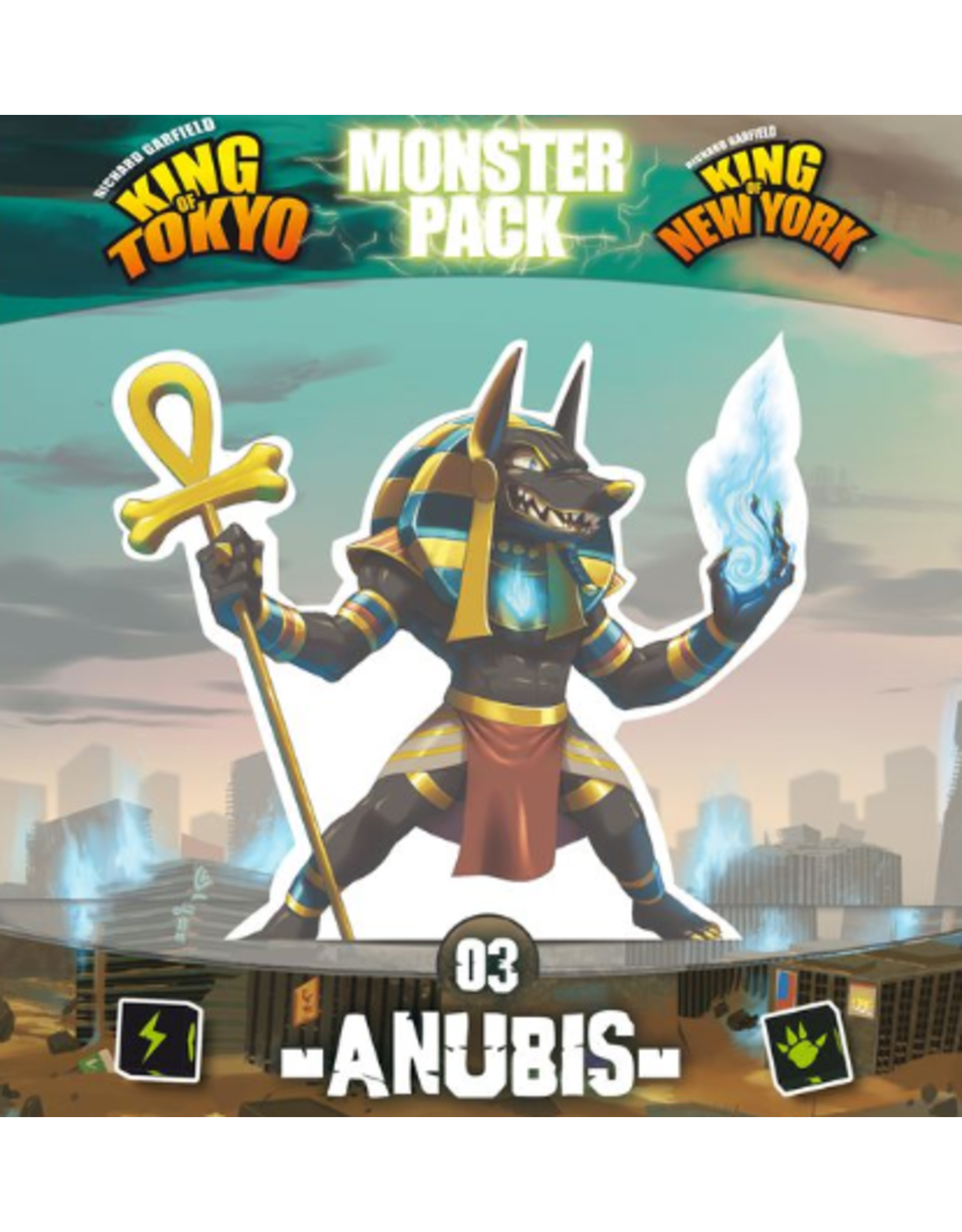 iello King of Tokyo: New York Anubis Monster Pack