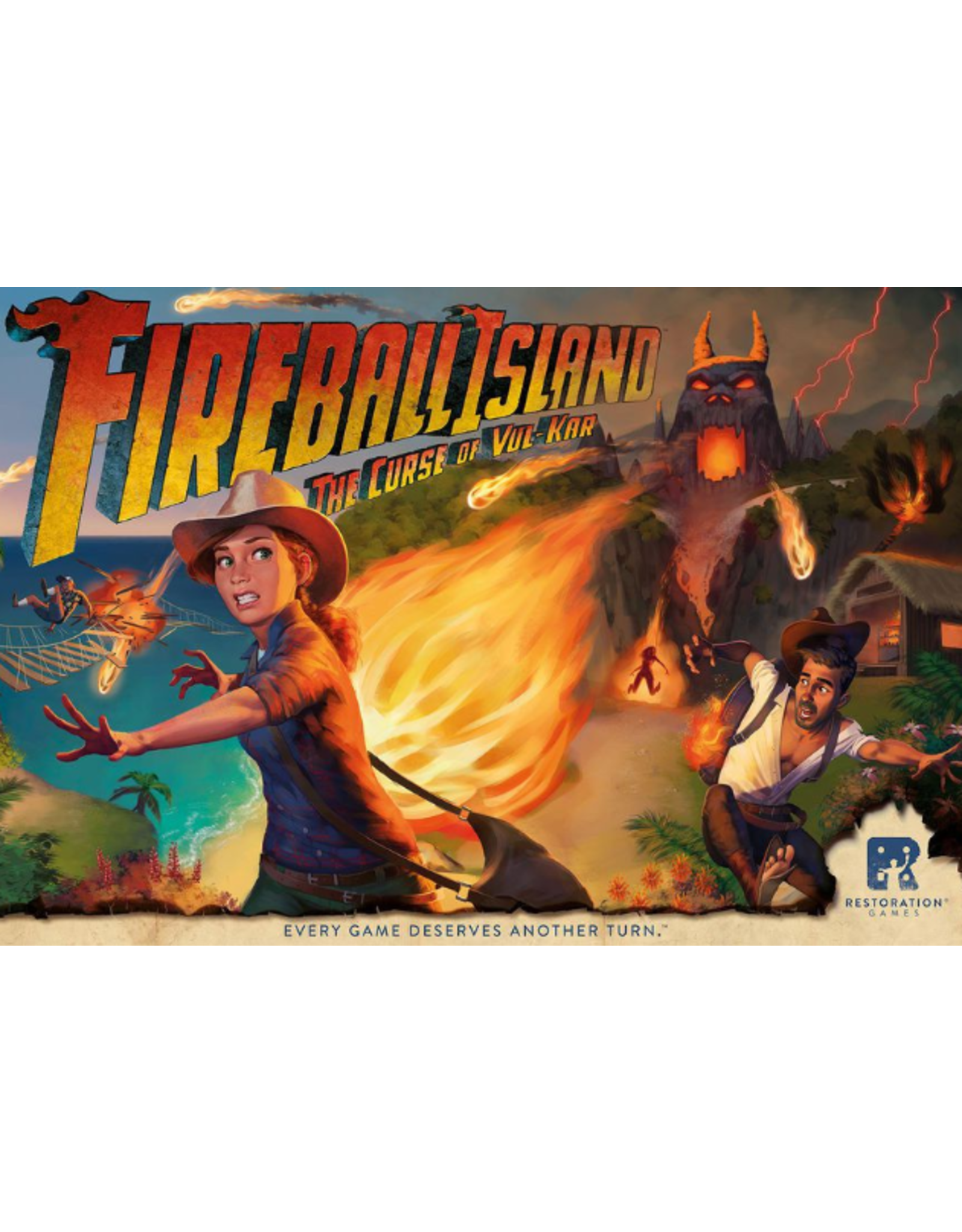 Restoration Games Fireball Island: The Curse of Vul Kar