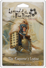 Fantasy Flight Games Legend of the Five Rings LCG: The Emperor's Legion - Lion Clan Pack