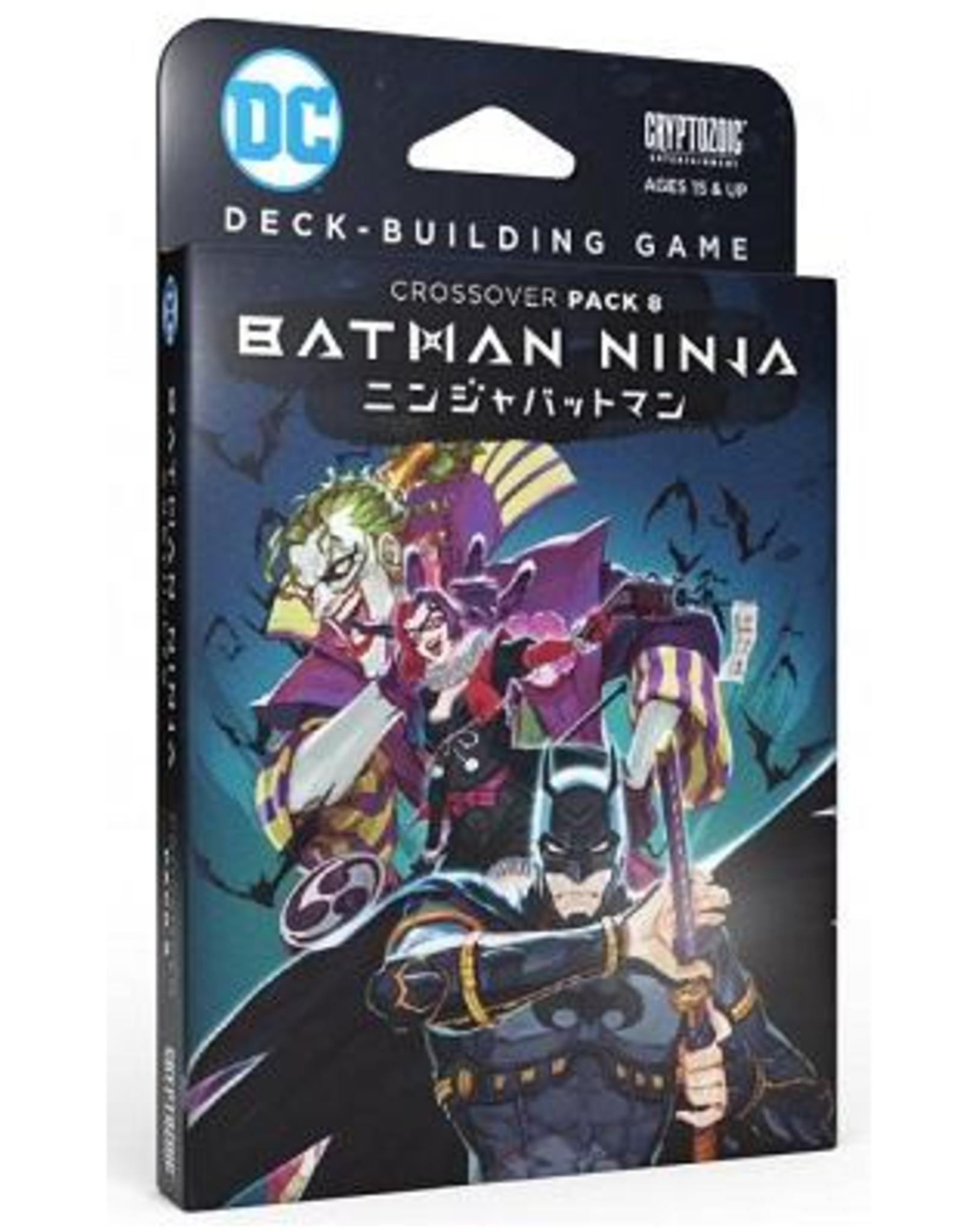 Cryptozoic DC Comics Deck-Building Game: Crossover Pack 8 - Batman Ninja