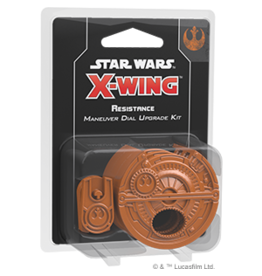 Fantasy Flight Games Star Wars X-Wing: 2nd Edition - Resistance Maneuver Dial Upgrade Kit