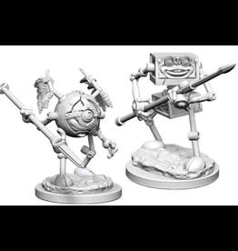 Wizkids D&D Nolzurs Marvelous Unpainted Minis: Monodrone & Duodrone
