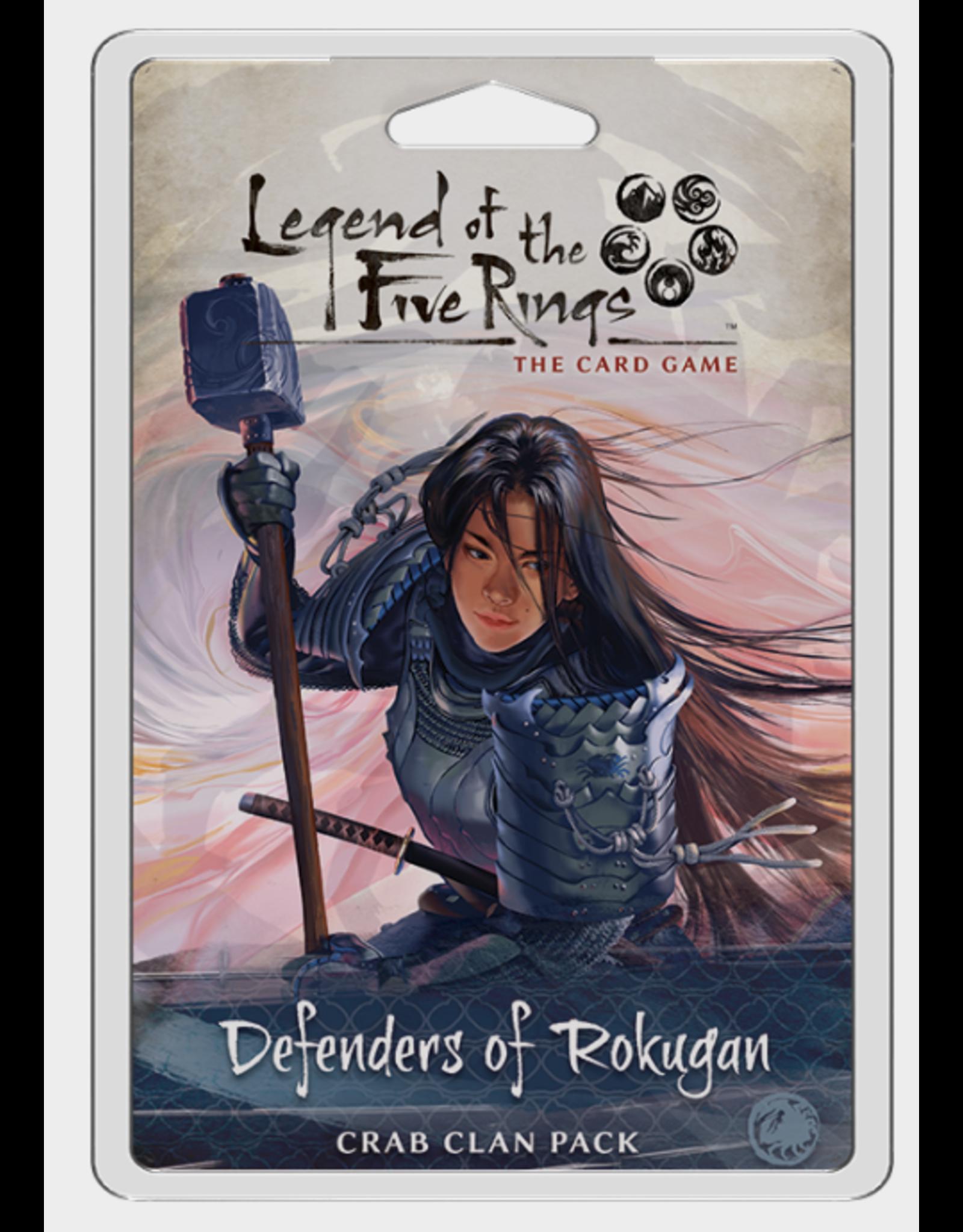 Fantasy Flight Games Legend of the Five Rings LCG: Defenders of Rokugan - Crab Clan Pack